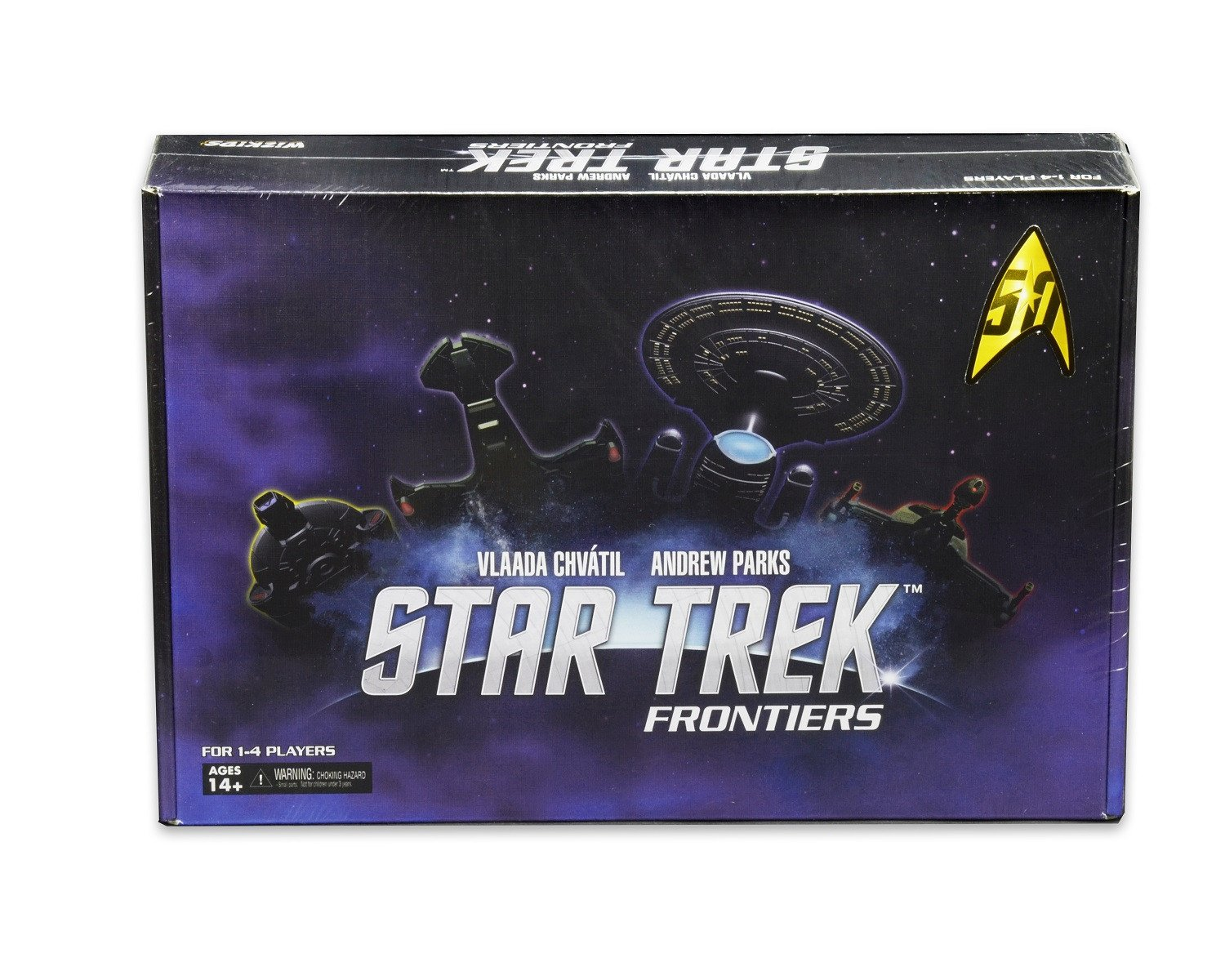 Amazon.com: Star Trek Frontiers (Star Trek Themed Mage Knight) Board Game:  Toys & Games