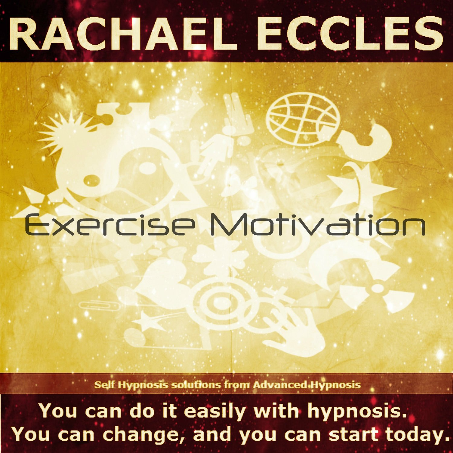 Exercise Motivation Hypnosis for Weight Loss and Fitness, Motivational Self Hypnosis, Hypnotherapy CD by Advanced Hypnosis
