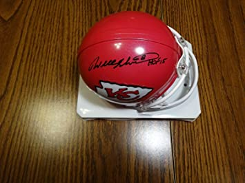 Amazon.com  Signed Will Shields Mini Helmet - HOF 15 Certified - Tristar  Productions Certified - Autographed NFL Mini Helmets  Sports Collectibles fed08d1c5