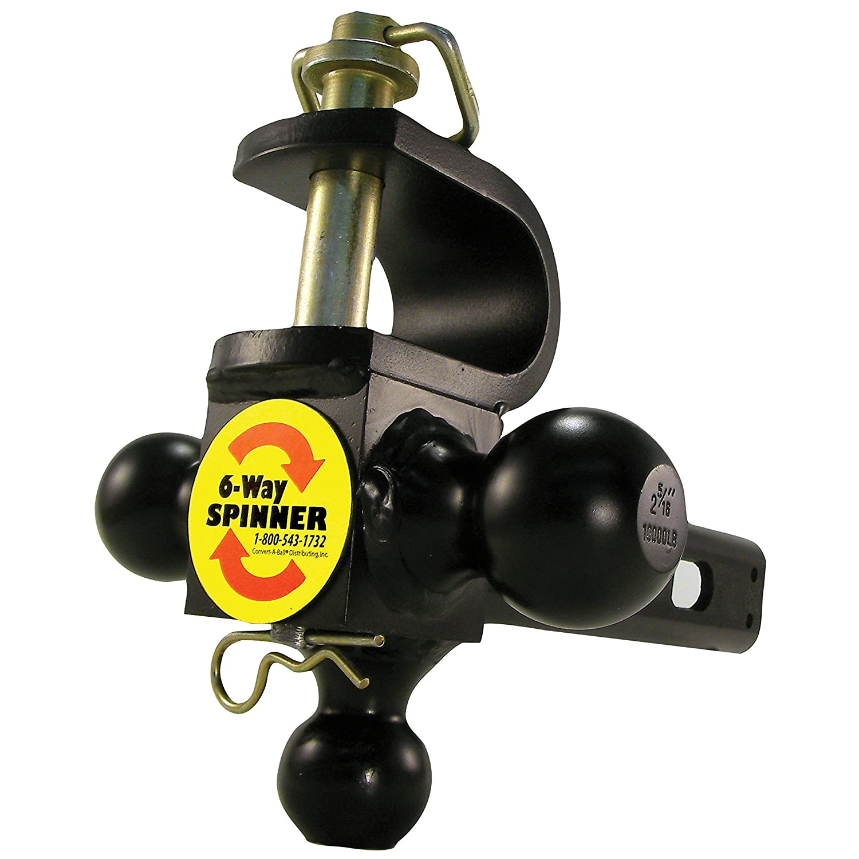 Convert-A-Ball 6W Cushioned 6-Way Multi-Hitch