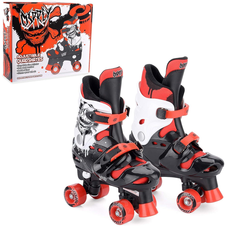Osprey Quad Skates f/ür Kinder Verstellbare Rollschuhe f/ür Jungen