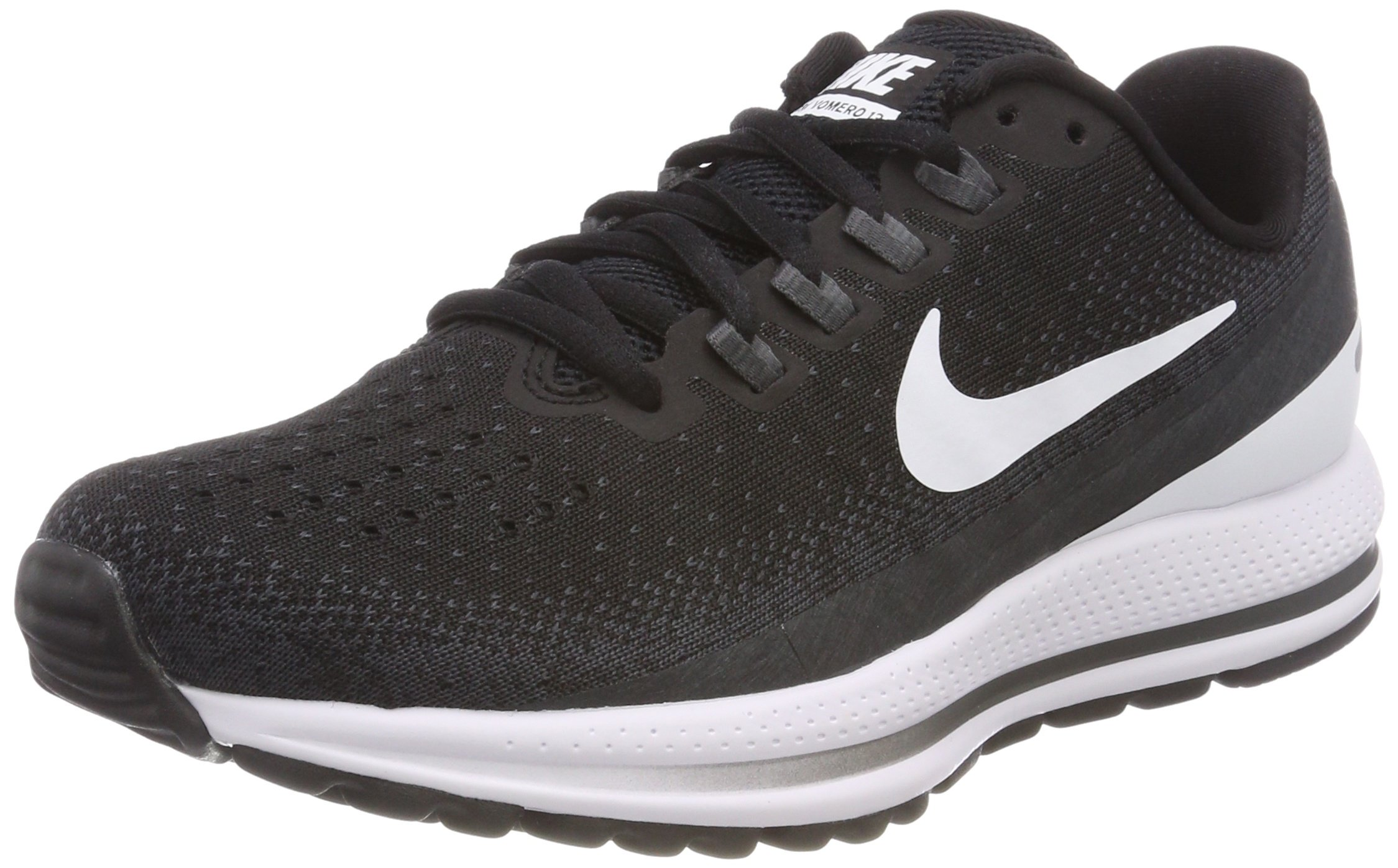 Nike Women's Air Zoom Vomero 13 Running Shoe Black/White-Anthracite 6.0