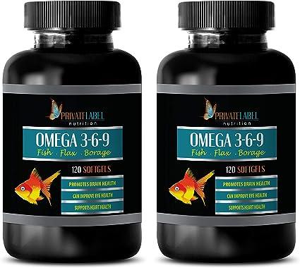 Amazon.com: Píldoras de Inflamación Natural - Omega 3 6 9 ...
