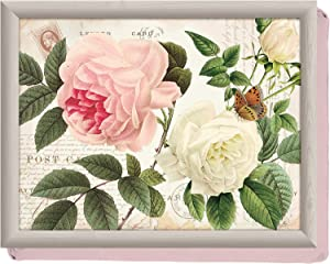 Creative Tops Rose Garden Cushioned Lap Tray, Multi-colour By Creative Tops