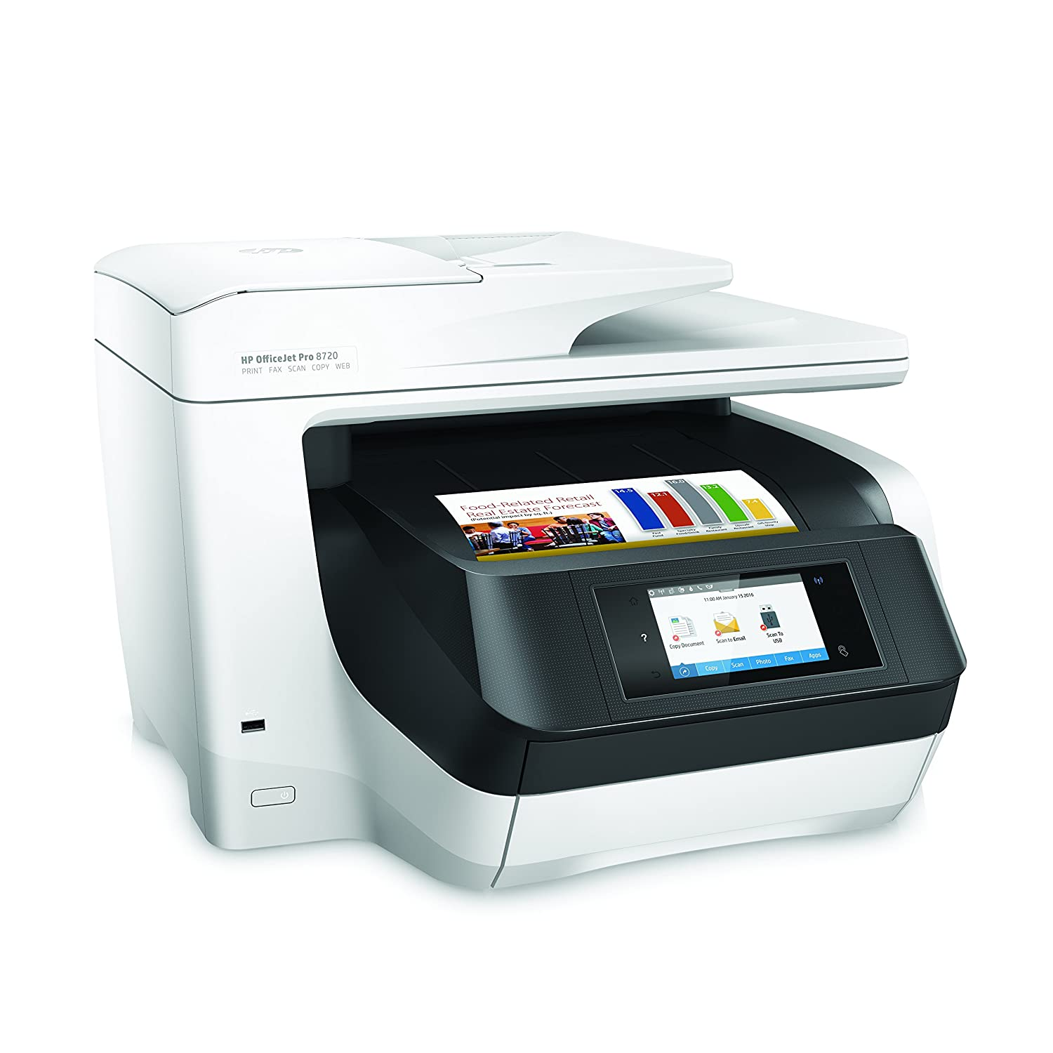 Color printing cost per page in india - Amazon Com Hp Officejet Pro 8720 Wireless All In One Photo Printer With Mobile Printing Instant Ink Electronics