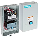 Siemens 14DUE32BA Heavy Duty Motor Starter, Solid State Overload, Auto/Manual Reset, Open Type, NEMA 1 General Purpose Enclosure, 3 Phase, 3 Pole, 1 NEMA Size, 10-40A Amp Range, A1 Frame Size, 110-120/220-240 at 60Hz Coil Voltage