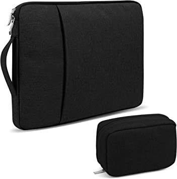 Fits Most Laptops MacBooks Composition Notebook Zipper Sleeve Bag Cover