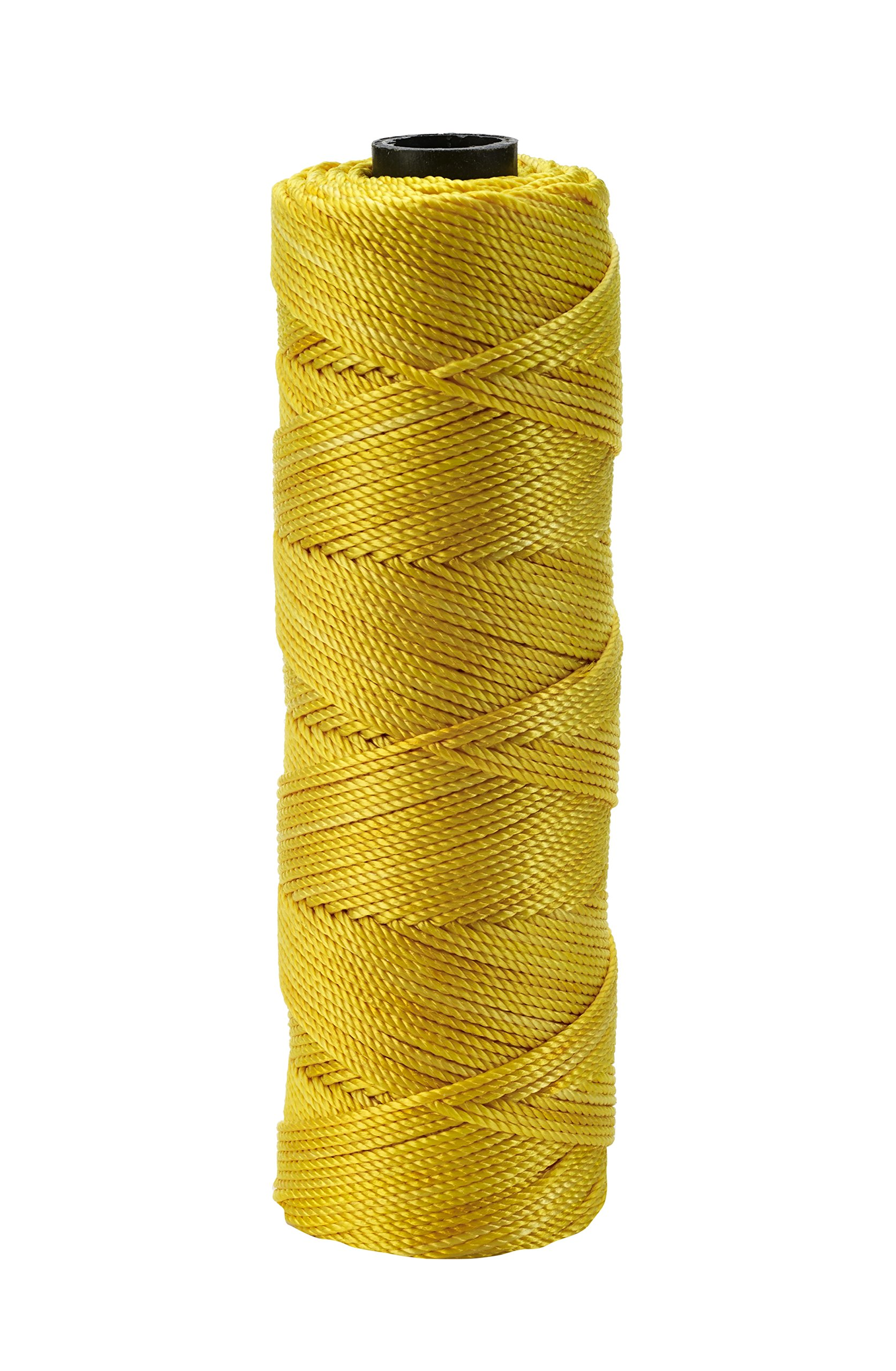 Mutual Industries 14661-138-275 Nylon Mason Twine, 1/4 lb. Twisted, 18 x 275', Glo Yellow (Pack of 6)
