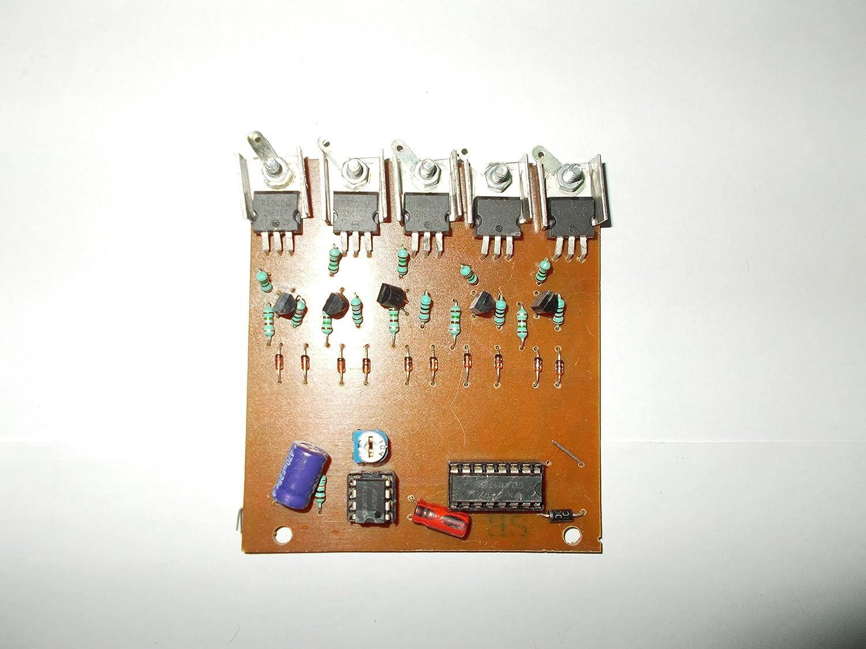 LED Running Circuit, LED 5 Run Circuit, project purpose: Amazon.in:  ElectronicsAmazon.in