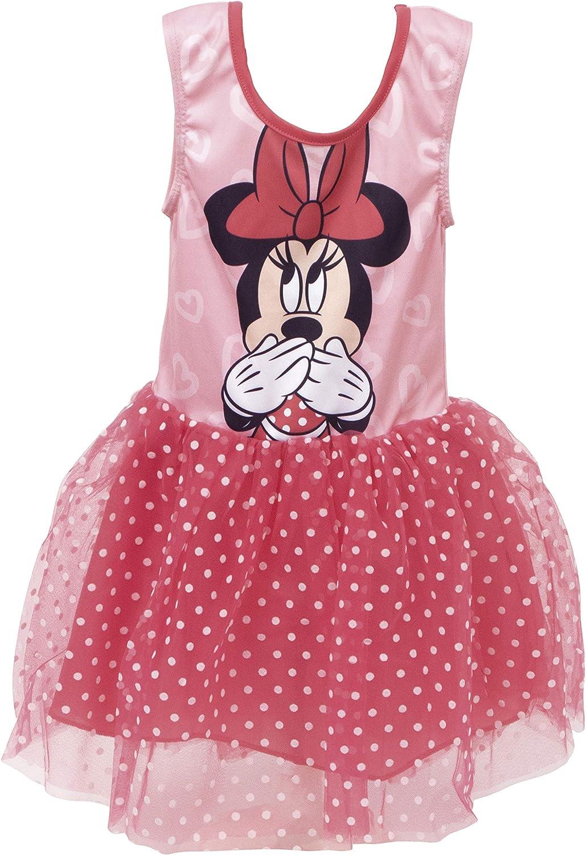 Disney, Vestido de Minnie Mouse, Vestido para Niñas, Falda de Tutú ...