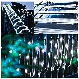 Oak Leaf Outdoor Solar String Lights, 41 Feet
