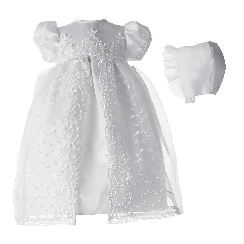 Amazon.com: Lauren Madison baby girl Christening Baptism Newborn ...