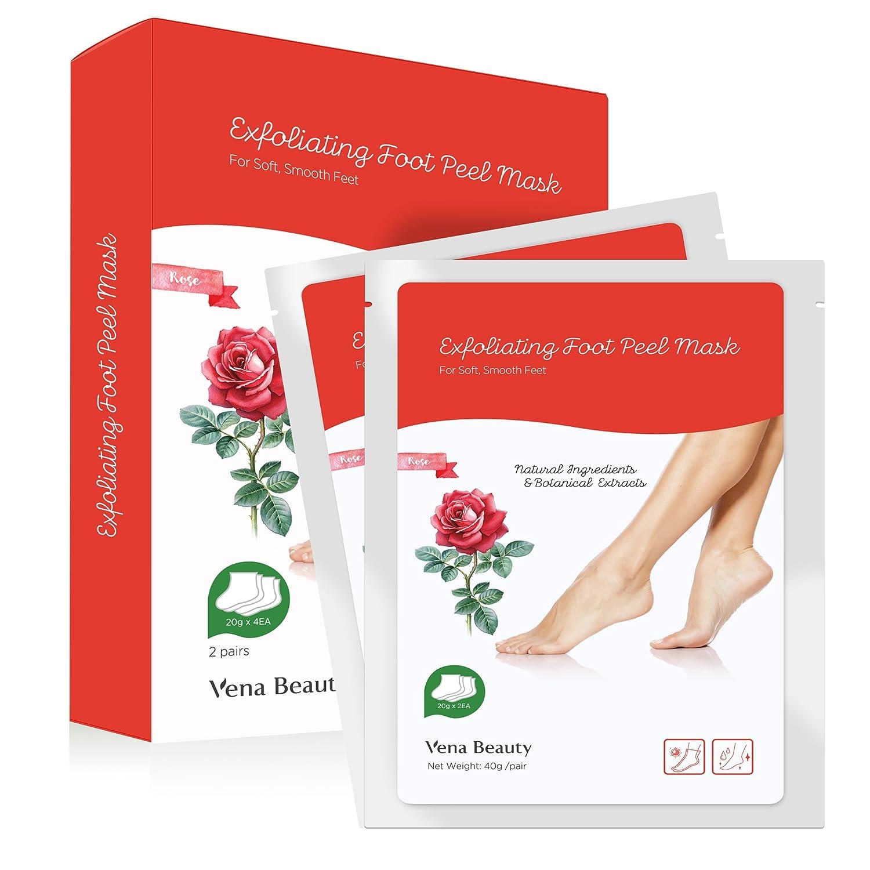 Amazon.com : BeaLuz Exfoliating Foot Peel Mask 2 Pairs, Exfoliant ...