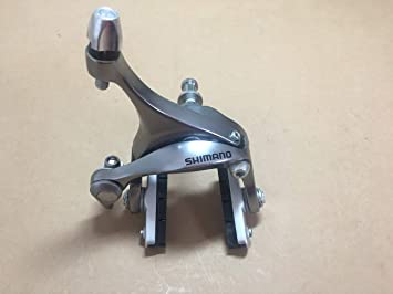 Rennrad Road Bremsen Brakes Hinterrad Dual Pivot Silber NEU Shimano BR-R561