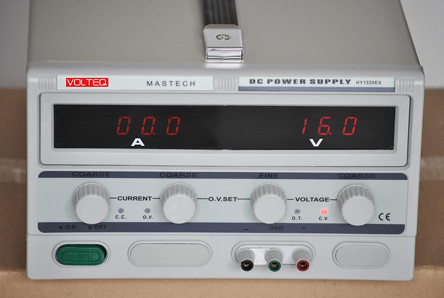 Volteq Variable Dc Power Supply Hy1520ex 15v 20a Over Voltage Adjustable 0 20v At 1a Protection Industrial Scientific
