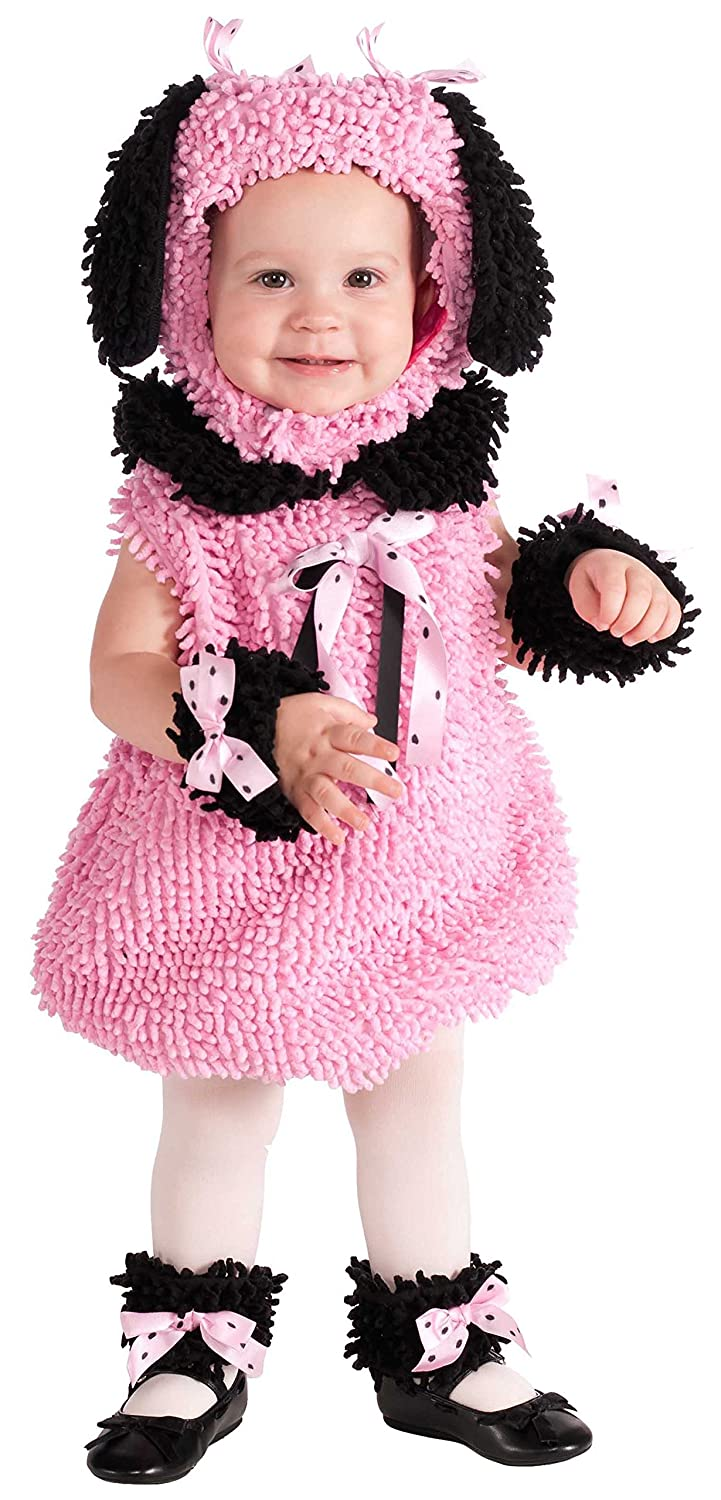 Rubies Costume Cuddly Jungle Precious Poodle Jumper Costume, Pink, 6-12 Months Rubies Costume Co (Canada) 881561INFT