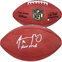 """$559 » Aaron Rodgers Green Bay Packers Autographed Duke Pro Football with""""XLV MVP"""" Inscription - Autographed Footballs"""