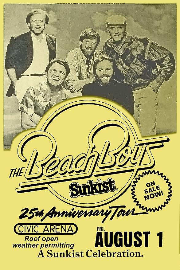 BRIAN WILSON Reimagines Gershwin Promo poster Beach Boys 11x17