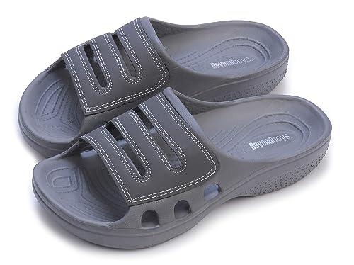 b6ad86406a8b Pupeez Rubber Clog Sandals for Kids – Waterproof Crocs Slipper for Home