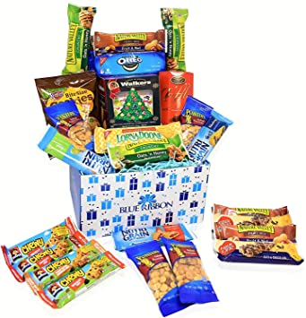 Care Package - Snacks, Nuts, Bars, Truffles,Walker Sortbread Cookies - Great