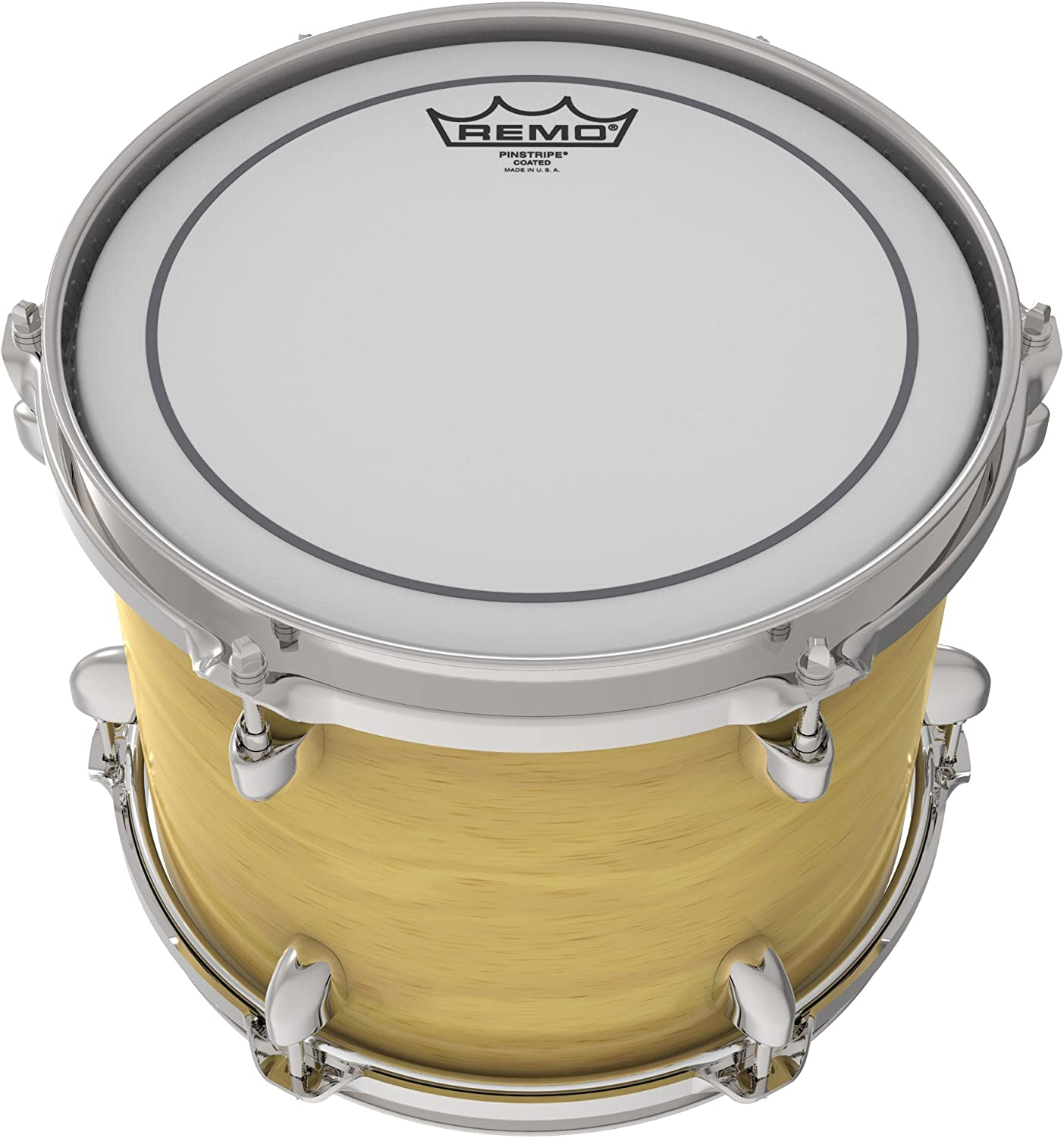 "Remo 18/"" Pinstripe Coated Drum Head PS-0118-00"