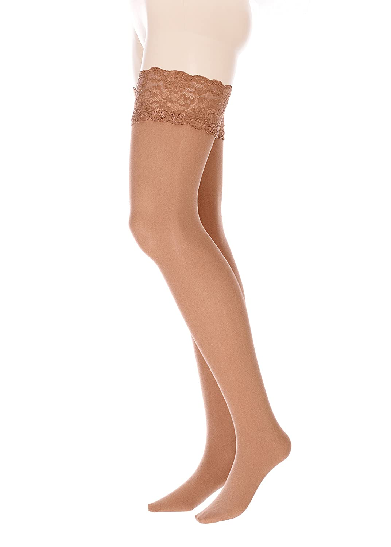 0789e7926ab GLAMORY Micro 60 hold-ups plus Size at Amazon Women s Clothing store