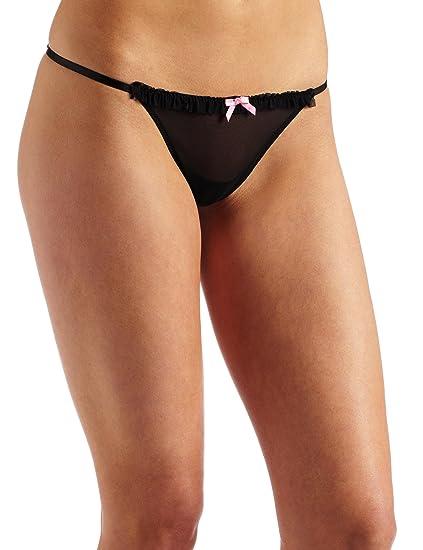 4e8a27ba0 Betsey Johnson Women s Adjustable String Thong Panty