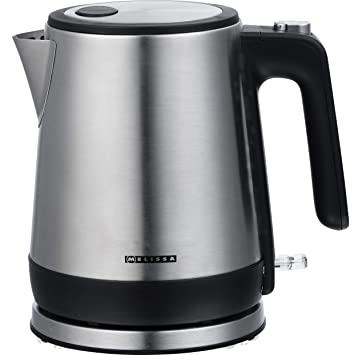 Melissa 16130291 Calentador de agua de diseño, 0,80 Litros, Frente de acero