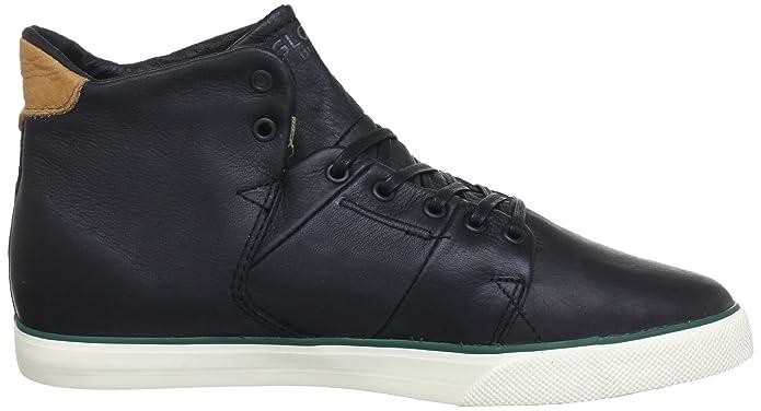Globe Los Angered GBLOSANGER - Zapatillas de deporte de cuero unisex, color negro, talla 44.5