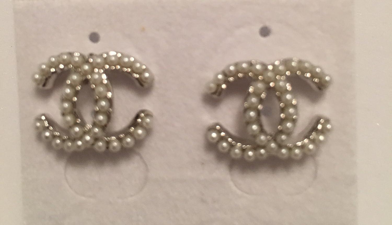 risparmi fantastici vari colori risparmia fino all'80% Chanel, orecchini con perle: Amazon.it: Gioielli