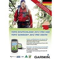 Garmin Freizeit- und Wanderkarte Topo Deutschland 2012 Pro Süddeutschland