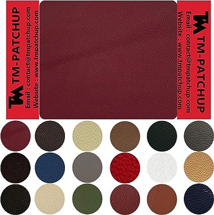 Leather /& Vinyl Adhesive Repair Patch Burgundy
