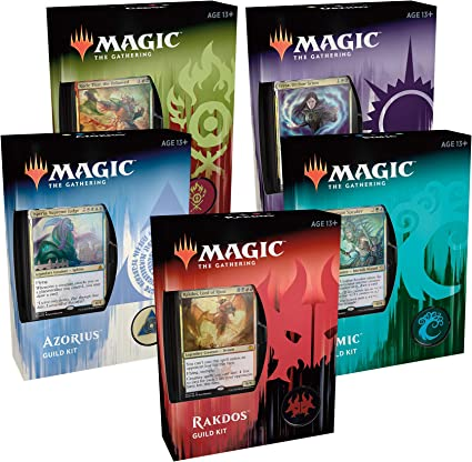 Magic The Gathering MTG Ravnica Allegiance Guild Kit All 5 Decks Wizards of the Coast