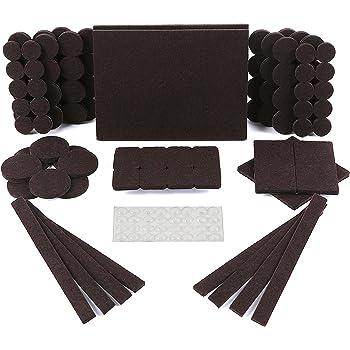 Simala Furniture Pads 124 Pack 60 Felt Pads Beige