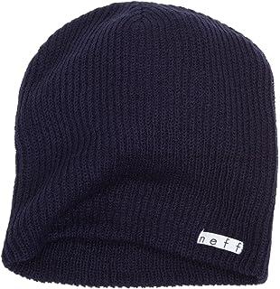 TRUE VISION Mens Navy Blue Beanie Hat - Wear as Slouch Turn Cuff ... 4da5dacd86c