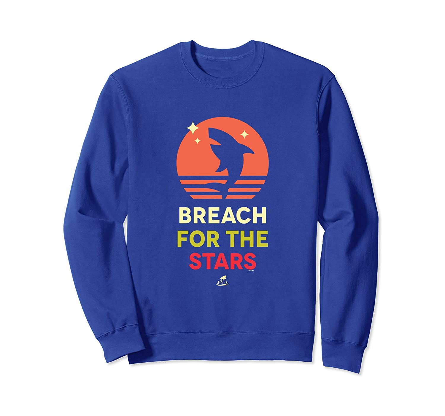 Shark Week: Breach For The Stars Sweatshirt-mt