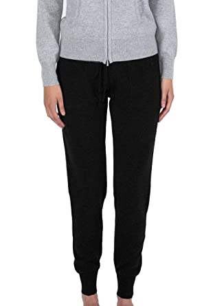 JENNIE LIU - Pantalones de chándal para Mujer (100% Cachemira ...