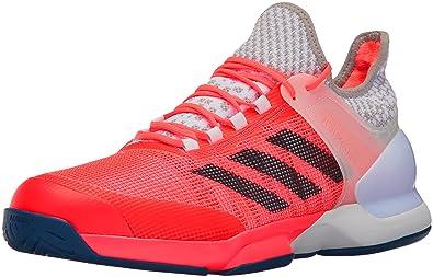 Adidas Adizero Ubersonic 2 Rojo / Blanco / Azul Marino 8OX5xxD