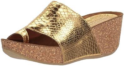 4988839e44c Amazon.com  Donald J Pliner Women s GINIE Slide Sandal Gold 6 Medium ...