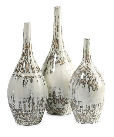 Amazon Imax 84621 3 Hampton Mexican Clay Pottery Vases Set Of