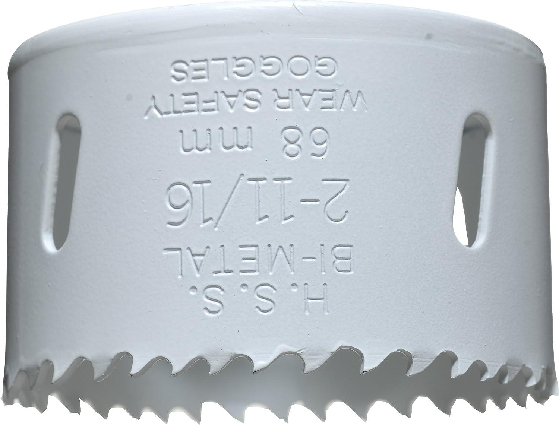 kwb 8 tlg Lochs/ägen-Set mit Vario Zahnung zus/ätzlich mit je einem 6 mm Holz-Bohrer Metall-Bohrer /& Glas-Bohrer