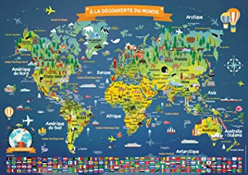 planisphere-du-monde - Photos