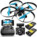 Force1 U49WF Wi-Fi FPV Drone with HD Video Camera