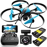 Force1 U49WF Drone with Camera for Adults - WiFi FPV Drone, VR Headset Compatible with 720P HD Drone Camera and 2 Extra…