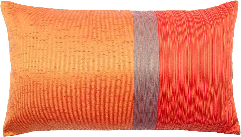 Madura Housse de Coussin ATINA Orange et Rouge 40 x 40 cm
