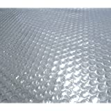 Blue Wave NS486 24-Feet Round Solar Blanket for Above Ground Pools 12-mil, Clear