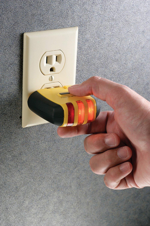 120V AC Sperry Instruments CS61200AS Adaptor Kit For CS61200 Electrical Circuit Breaker Finder 60Hz Gardner Bender