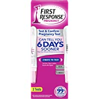 First Response 22600901334 Test and Amp Confirm Pregnancy Test Kits