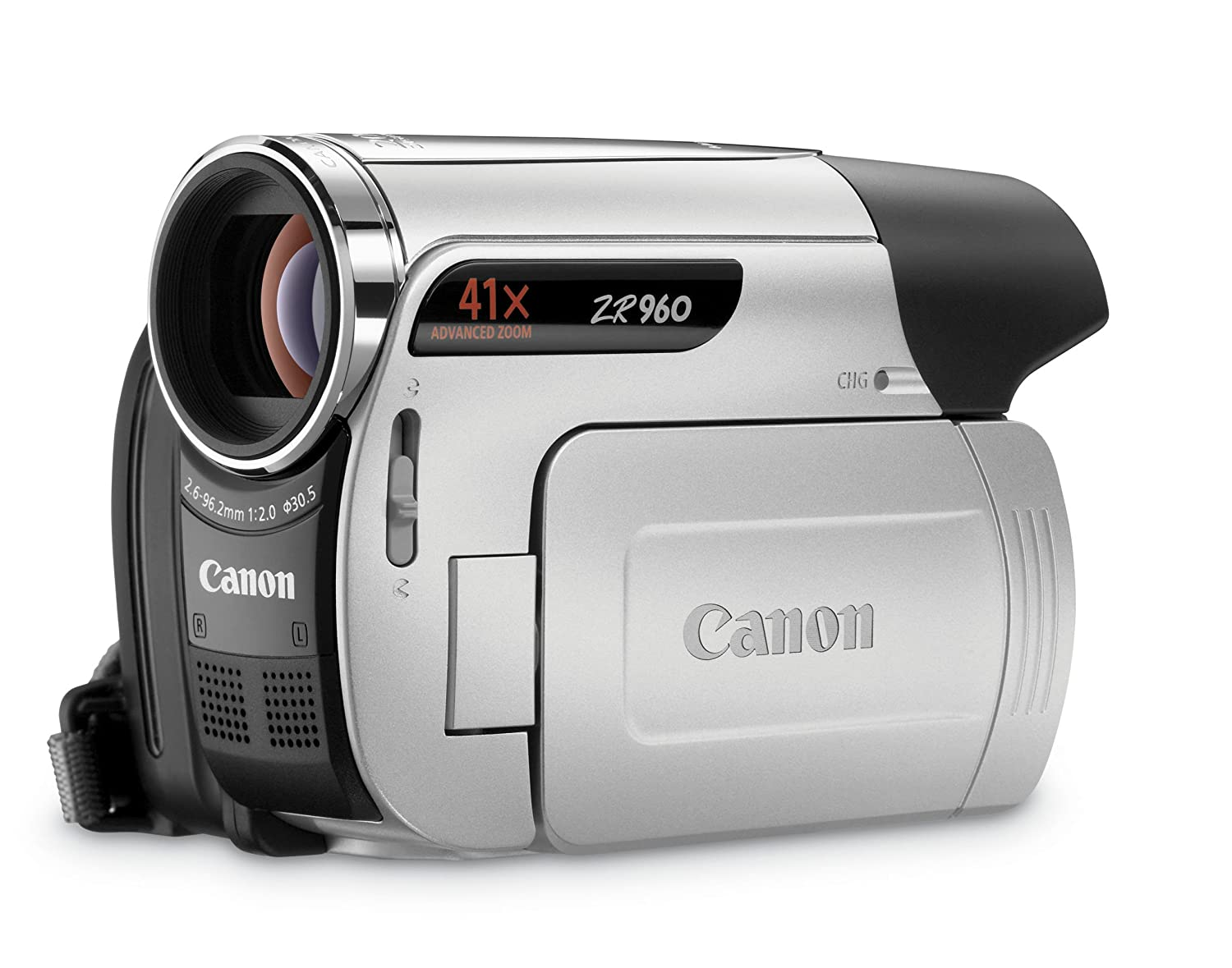 Amazon.com : Canon ZR960 MiniDV Camcorder w/41x Advanced Zoom - 2009 MODEL  (Discontinued by Manufacturer) : Mini Dv Digital Camcorders : Camera & Photo