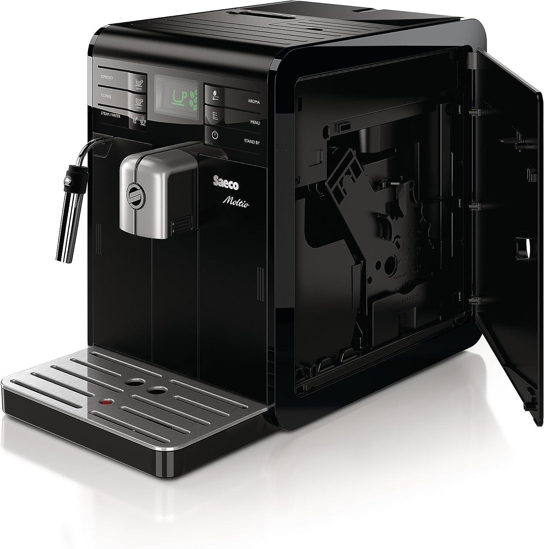 Saeco Moltio HD8766/01 - Cafetera automática, 1850 W, color negro ...